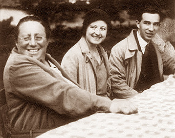 Emmy Noether, M. L. Dubreil-Jacotin et son mari